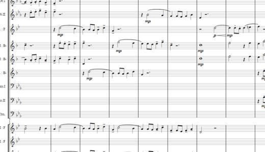 バッハのフーガをオーケストラに編曲してみた